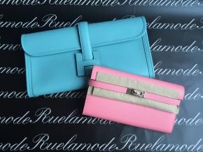 hermes kelly wallet clutch blue atoll ghillies swift palladium hardware