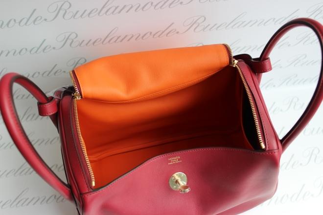 lindy-30-rouge-grenat-orange-interior