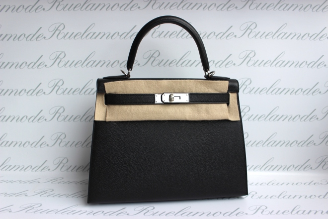 hermes-kelly-28-black-epsom-phw
