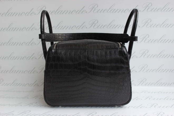 Lindy 26 black Croc .JPG