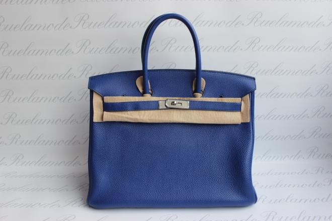 Hermes Birkin 35 Blue electric.JPG